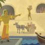 Joseph Helped Pharaoh—Bible Story Teaching Picture