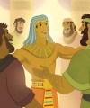 Joseph and His Brothers—Bible Story Teaching Picture