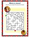 Bible Maze Activity - Where is Jesus?