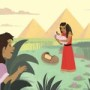 Bible Teaching Picture—God Protected Baby Moses