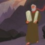 Moses Receives the Ten Commandments Teaching Picture