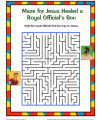 Sunday School Maze Activity - Jesus Healed a Royal Official's Son
