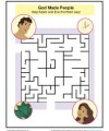 Help Adam and Eve find the way with this fun Sunday School Maze Activity!