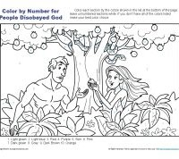 People Disobeyed God Bible Coloring Pages For Kids