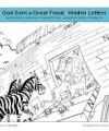 Noah Bible Story for Children - Find the Hidden Letters Activity
