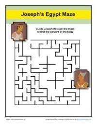 Maze Help Joseph Find The King S Servant In Prison