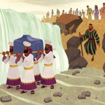 God divides the Jordan River for His people