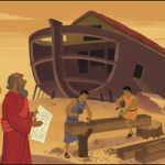 Bible Teaching Picture | God Guided Noah