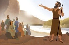 John the Baptist | Bible Story Teaching Picture