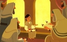 Where Was Jesus? | Bible Story Teaching Picture