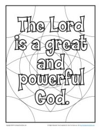 Bible Coloring Page For Kids Bible Phrase