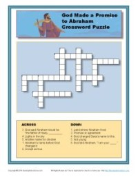 God Made a Promise to Abraham—Crossword Puzzle