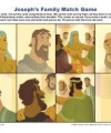 Children's Bible Story Matching Game Activity - Joseph's Family