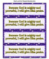 Children's Bible Story Printable Bookmarks - God Led His People