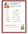 Bible Story Word Scramble Puzzle - Jesus and the Children