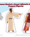 Sunday School Puppet Activity—Jesus Healed a Royal Official's Son