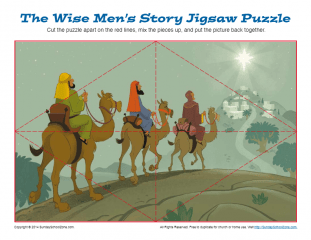 Wise Men's Christmas Adventure Jigsaw | Puzzles for Children
