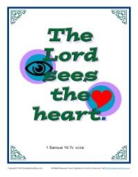 Bible Verses for Kids - 1 Samuel 16:7