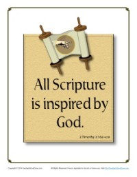 Bible Verses for Kids - 2 Timothy 3:16
