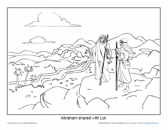 Abraham Coloring Pages Printable Bible Sheets For Kids