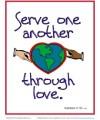 Bible Verses for Kids Poster - Galatians 5:13