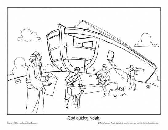 Noah S Ark Coloring Pages Noah Printable Sheets For Kids