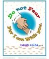 Bible Verses for Kids Poster - Isaiah 43:5