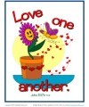 Bible Verses for Kids Poster - John 15:17