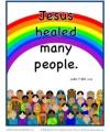 Bible Verses for Kids Poster - Luke 7:21