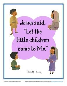 Bible Verses for Kids Printable