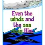 Bible Verses for Kids - Matthew 8:27
