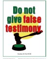 10 Commandments for Kids - Do Not Give False Testimony