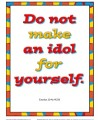 10 Commandments for Kids - Do Not Make An Idol for Yourself Poster