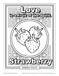 Fruit of the Spirit for Kids Love