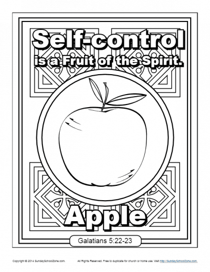Self control coloring pages for sunday school ~ Paul Archives - Page 8 of 14 - Children's Bible Activities ...