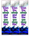 Jesus is Lord Over Nature Printable Bookmarks
