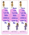 Jesus Said, Let the Little Children Come to Me - Printable Bookmarks
