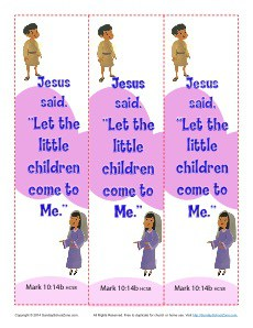 jesus said let the little children e to me bookmarksjpg