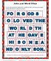 John 3-16 Printable Word Tile Activity for Kids