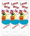 Love One Another Printable Bookmarks