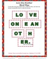 Love One Another Word Tiles Activity