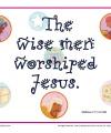 Matthew 2:11c Printable Bible Verse Poster