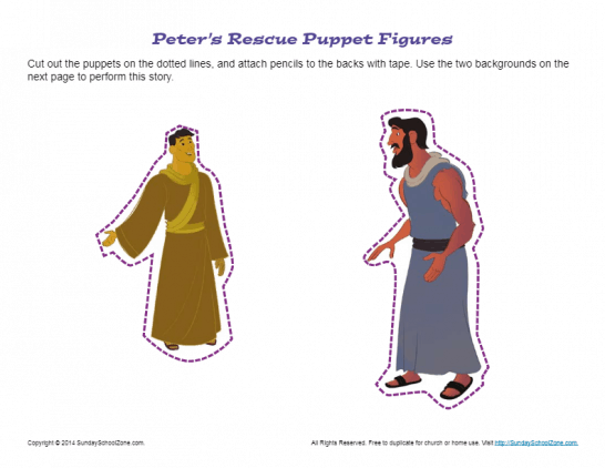 graphic about Bible Character Puppets Printable called Puppets Bible Lesson Actions for Young children