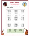 Peter's Rescue - Printable Word Search Activity
