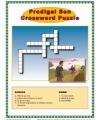 Sunday School Activity - Prodigal Son Crossword Puzzle