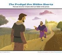 The Prodigal Son Hidden Hearts Sunday School Activity