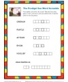 Sunday School Prodigal Son Word Scramble Activity for Kids