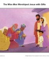 The Wise Men Worshiped Jesus with Gifts - Children's Sermon Picture