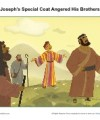 Joseph's Special Coat Angered His Brothers - Children's Sunday School Sermon Picture