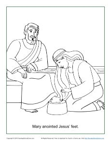 Mary Anointed Jesus Feet